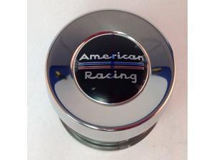 American Racing 8 Lug 1515002SS Stainless Steel Push Thru Center Cap
