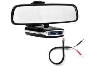 Mirror Mount Bracket + Mirror Wire Cord - Escort MAX360 MAX2 MAX