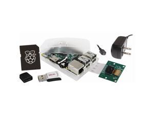 Raspberry Pi Model B+ 512MB Camera Kit w/8GB NOOBs MicroSD and WiPi Adapter