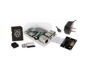 Raspberry Pi Model B+ 512MB Camera NoIR (Night Vision) Kit w/8GB NOOBs MicroSD and WiPi Adapter
