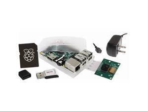 Raspberry Pi 2 Model B 1GB 5MP Camera Kit w/Case, 5.1v 2A PSU, 8GB NOOBs MicroSD and WiPi Adapter
