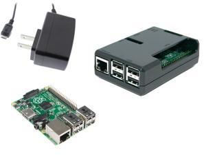 Raspberry Pi 2 Bundle w/Black Case & 5v 11W PSU