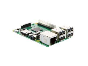 Raspberry Pi 3 Model B - 1.2GHz Quad Core Cortex-A53 64-Bit CPU, 1GB RAM, WiFi, Bluetooth