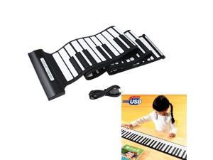 Newest USB 88 Keys Midi Roll up Electronic Piano Keyboard Silicone Flexible Professional Piano Keyboards