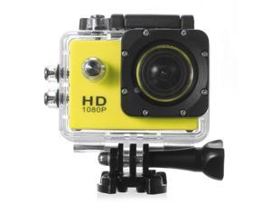 SJ6000 Wifi Waterproof Underwater Action Camera DV 12MP 1080P HD DVR Camcorder + Mounting Accessories Kit(Yellow)