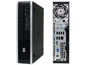HP Elite 8000 USDT Ultra-Slim Desktop PC - USFF Intel Core 2 Duo 3.0Ghz - 4GB RAM - 250GB Hard Drive - DVD RW - Windows 7 Professional 64 Bit Installed