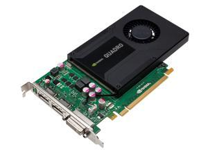 HP Nvidia Quadro K2000 2GB GDDR5 Video Graphics Card 700103-001 713380-001 with 2 Display Port to DVI Dongle Cables