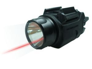 BEAMSHOT BS9001R RED LASER SIGHT/TACTICAL FLASHLIGHT COMBO (Rechargeable Battery&#59; *Duty Holster & Car cigarette charger are included)