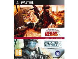 Includes 2 games: Tom Clancy's Rainbow Six Vegas 2 and Ghost Recon 2 Advanced Warfare