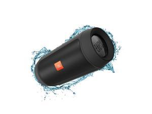 Refurbished: JBL Charge 2+ Splashproof Bluetooth Speaker, Powerful Bass - Black