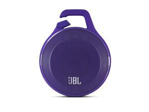 JBL Clip Ultra-portable Bluetooth Speaker with Carabiner - Purple