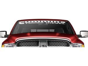Cummins Turbo Diesel Windshield Banner Decal