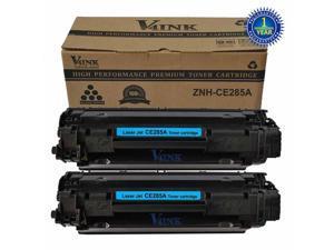 2 New CE285A Black Toner Cartridge for HP 85A 285A CE285A Toner Cartridge HP LaserJet Printer Pro P1102 P1102w P1109w M1212f M1212nf M1213nf M1214nfh M1216nfh M1217nfw M1219nf M1130 M1132 M1134 M1136