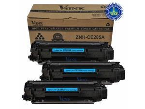 3 New CE285A Black Toner Cartridge for HP 85A 285A CE285A Toner Cartridge HP LaserJet Printer Pro P1102 P1102w P1109w M1212f M1212nf M1213nf M1214nfh M1216nfh M1217nfw M1219nf M1130 M1132 M1134 M1136