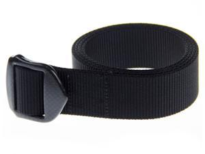 Rockway 2201 Travel Belt - Wearable Nylon and Big Carbon Fiber Buckle, Strong Holding Power and Lightness