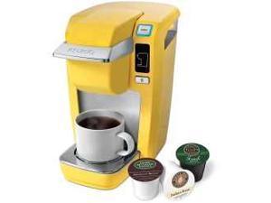 Keurig K10 Banana Yellow MINI Plus Single-Serve Brewing System