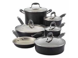Anolon Advanced Pewter 11 Piece Cookware Set