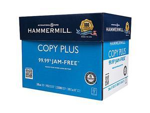 "HammerMill Copy Plus Copy Paper, 8 1/2"" x 11""    5 Ream Case"