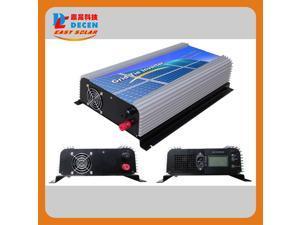 DECEN 1000w Grid Tie Inverter Output Pure Sine Wave, 22-60vdc,110vac,60hz for Home Solar Grid System