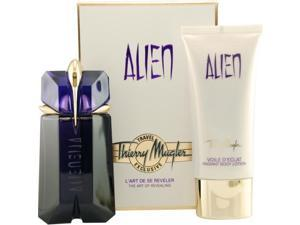 Alien By Thierry Mugler Eau De Parfum Spray 2 Oz & Radiant Body Lotion 3.4 Oz (travel Offer)