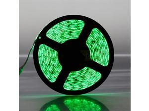 16.4ft (5m) GREEN Waterproof Flexible LED Strip Lights - 5050 SMD 300LEDs/pc LED Light Strip - Multifunctional LED Tape Light