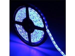 16.4ft (5m) BLUE Waterproof Flexible LED Strip Lights - 5050 SMD 300LEDs/pc LED Light Strip - Multifunctional LED Tape Light
