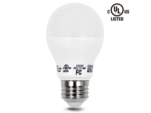 110V 7W A19 LED Bulb - 2700K Warm White 40W Equivalent UL-listed LED A19 Light Bulb - 470lm E26/E27 Base for Home, Residential, Commercial, General Lighting
