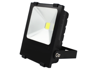 50W High Power Outdoor LED Flood Light - AC85-265V Daylight Waterproof COB LED Floodlight Security Light - Die-casting Aluminum Light Housing -120 Degree Beam Angle
