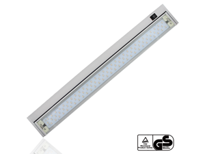 Extendable 110V 6W Multi-function LED Under Cabinet Lighting Fixture - Angle Adjustable LED Mirror Light - Warm White 90 LEDs - Toughened Glass Aluminum Housing 120° Beam Angle for Cabinet, Bathroom,