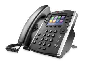 Polycom VVX 400 12-line Mid-Range Business Media Phone with Color Display