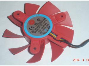 Frameless cooling fan of NTK FD8015U12S with 12V 0.5A 4-Wires