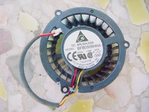DC Circular Cooler of Delta BFB0505HHA with 5V 0.36A 3-Wires For Notebook CPU