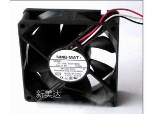Original NMB-MAT 3110KL-05W-B89 B01  8025 2 Balls Bearing Cooling fan with 24V 0.23A  80*80*25mm 3 Wires