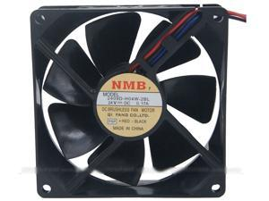 NMB 9CM 2409D-H04W-2BL Ball Bearing Cooling fan with 24V  0.17A 3 Wires