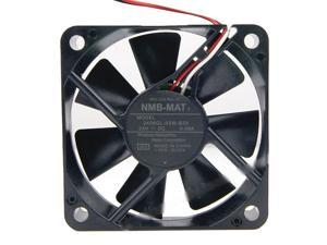 NMB 6015 2406GL-05W-B39 Dual Balls Bearing Cooling fan with 24V 0.08A 3 Wires 3Pins Connector