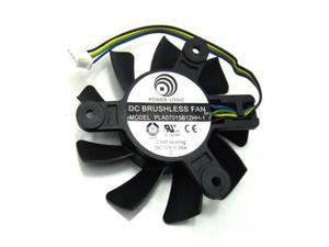 Power Logic PLA07015B12HH-1 DC Frameless cooler with 12V 0.30A 4 Wires 4Pins for 9800 8800 4850 GTS250 VGA Card