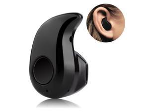 SAVFY Mini Bluetooth 4.0 Invisible Headset Headphone Earphone In-ear Earbud Support Hands-free Calling - Black