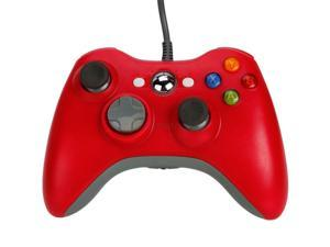 Wired USB Game Pad Joysticks Controller Reomte For Microsoft xBox 360 - Red (Althemax)