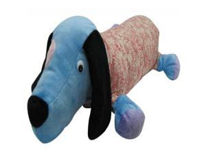 23 inch Blue Pound Puppy Dog Stuffed Animal Pillow with Jacket