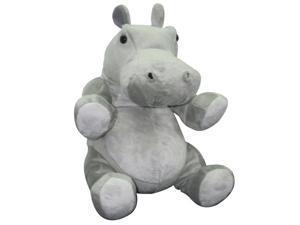 16 inch Plush Stuffed Animal Toy African Safari Wild Animal Hippopotamus
