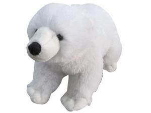 13 inch Plush Stuffed Animal Toy White Arctic Polar Bear