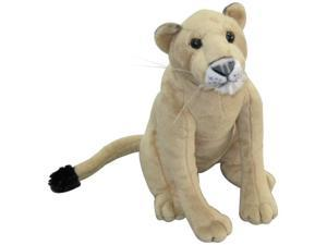 12 inch Plush Stuffed Animal Jungle Safari Zoo Wild Lioness