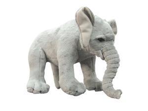 10 inch Jungle Safari Zoo Plush Stuffed Wild Animal Toy Elephant