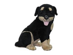 9 inch Plush Stuffed Animal Toy Rottweiler Puppy Dog