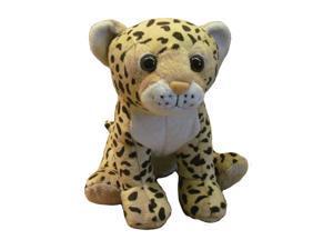 9 inch Plush Stuffed Animal Toy Jungle Safari Zoo Baby Leopard