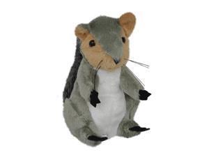 7 inch Plush Woodland Forest Stuffed Animal Toy Baby Squirrel