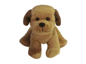 6 inch Plush Stuffed Animal Toy Light Brown Baby Puppy Dog