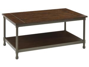 Sullivan Coffee Table with Pewter & Walnut Finish
