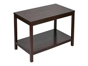"Merge 42"" Rectangular Cocktail Table (Mahogany)"