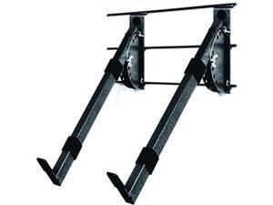 Multi Angle Keyboard Rack - Black - Slatwall (U.S. Standard) - 16 Inch Arms